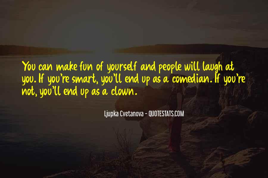 Smart Humour Quotes #1630216