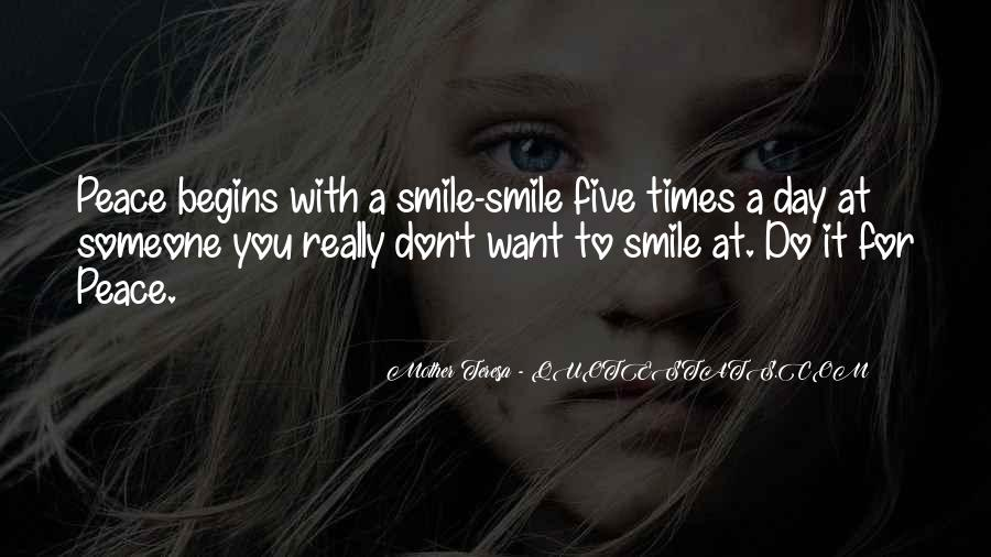 Smile Each Day Quotes #100335