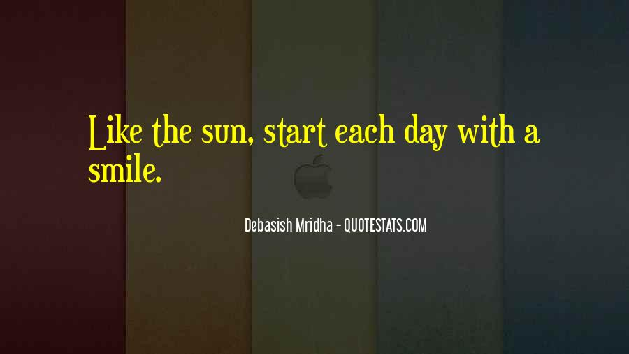 Smile Each Day Quotes #1315350