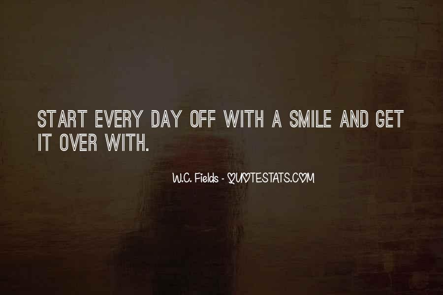 Smile Each Day Quotes #135293
