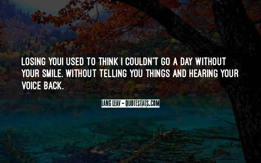 Smile Each Day Quotes #235333