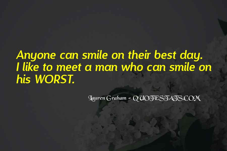 Smile Each Day Quotes #300250