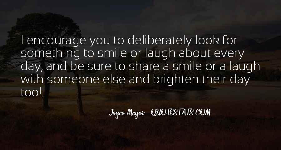 Smile Each Day Quotes #317925