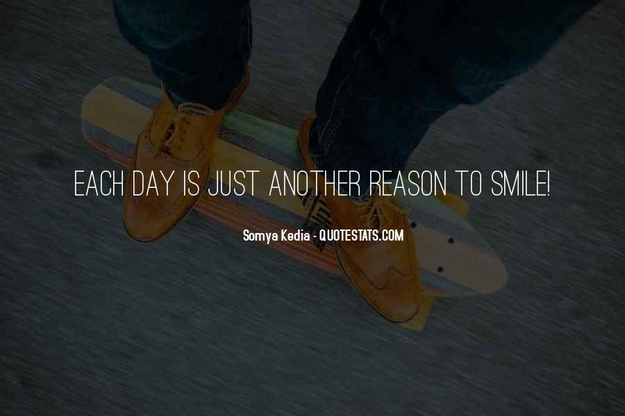 Smile Each Day Quotes #882887