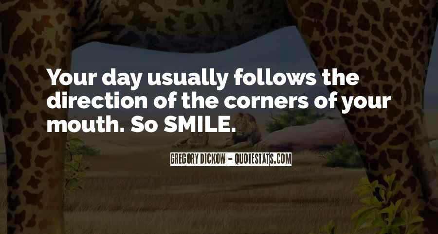 Smile Each Day Quotes #93987