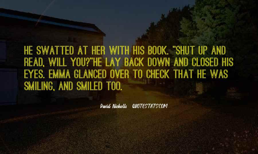Smile Eyes Closed Quotes #231895