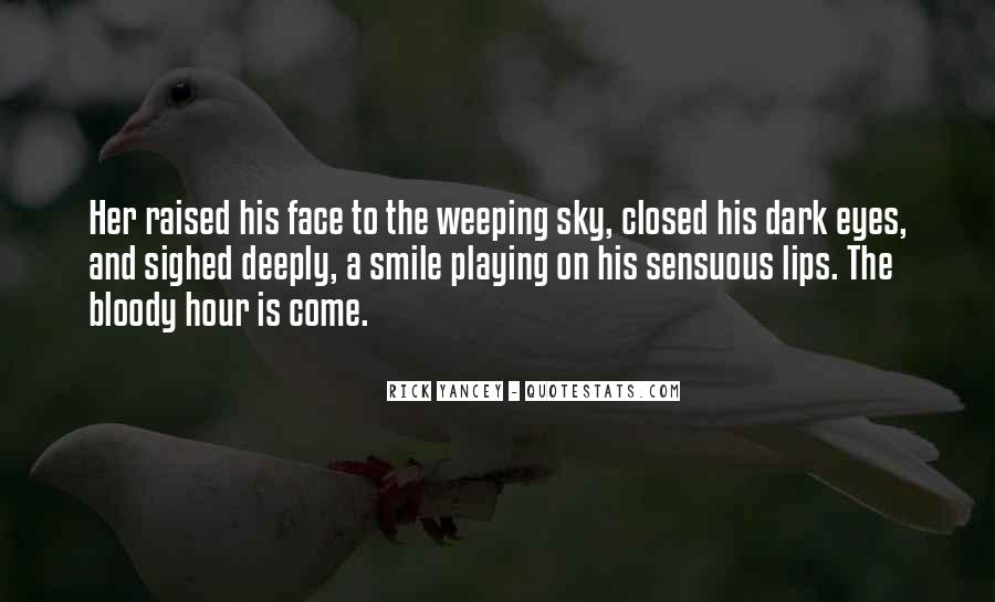 Smile Eyes Closed Quotes #242116