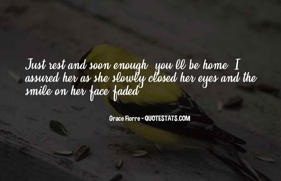 Smile Eyes Closed Quotes #319654