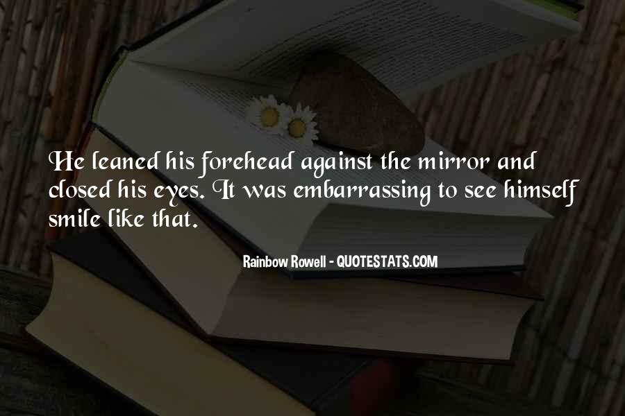 Smile Eyes Closed Quotes #37378