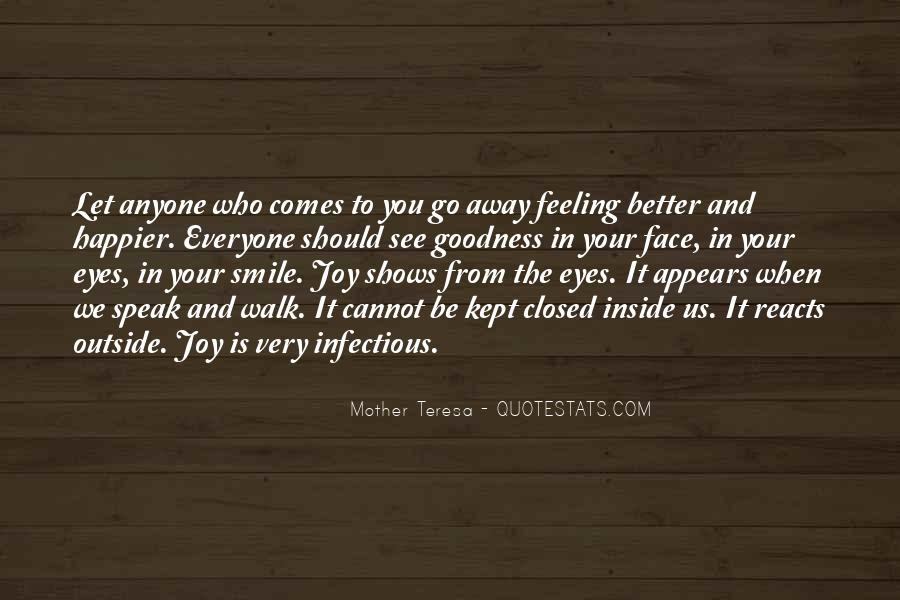 Smile Eyes Closed Quotes #611340