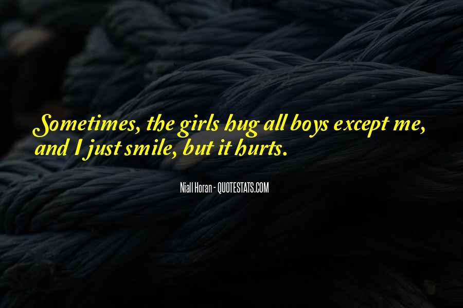 Smile Hurts Most Quotes #1091034