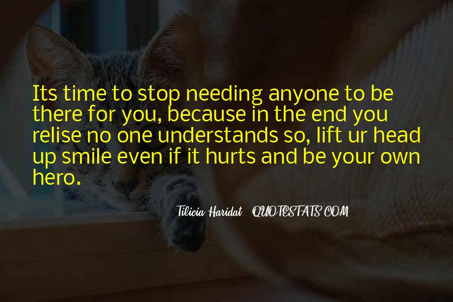 Smile Hurts Most Quotes #1465462