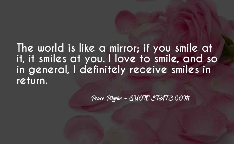 Smile N Love Quotes #33898