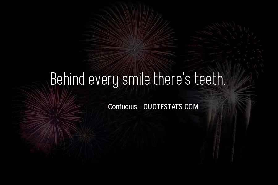 Smile Teeth Quotes #1095284