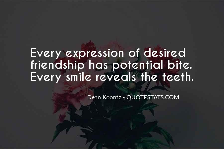 Smile Teeth Quotes #1100060