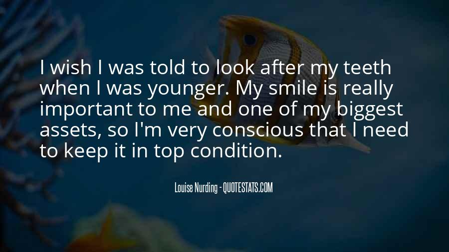 Smile Teeth Quotes #1174886