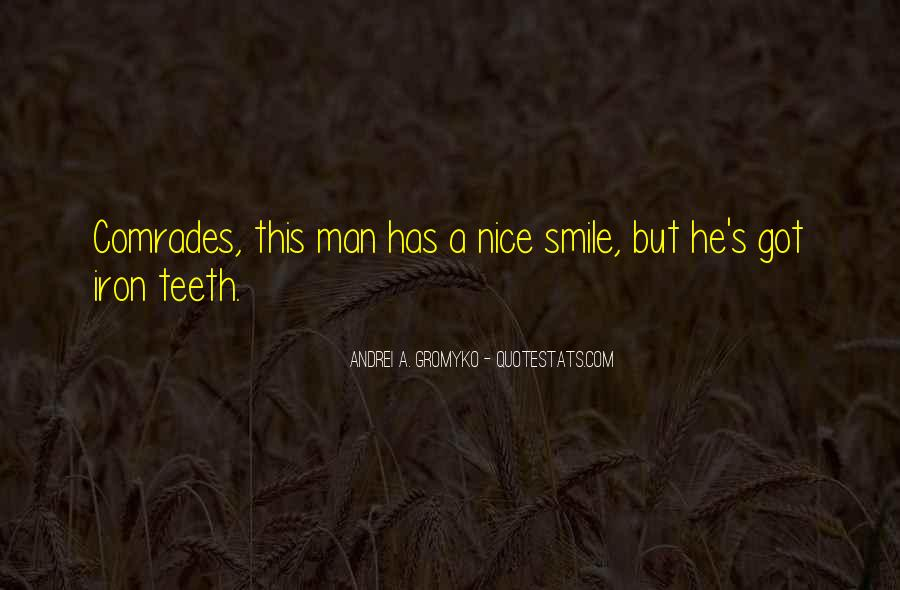 Smile Teeth Quotes #1311139