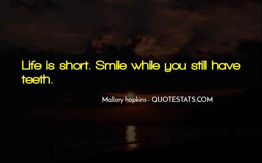 Smile Teeth Quotes #136691