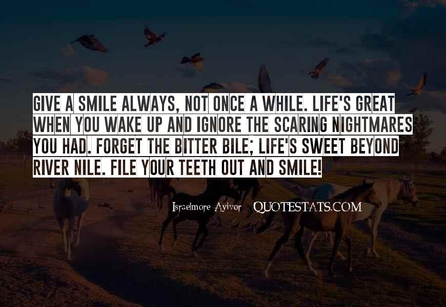 Smile Teeth Quotes #1372118
