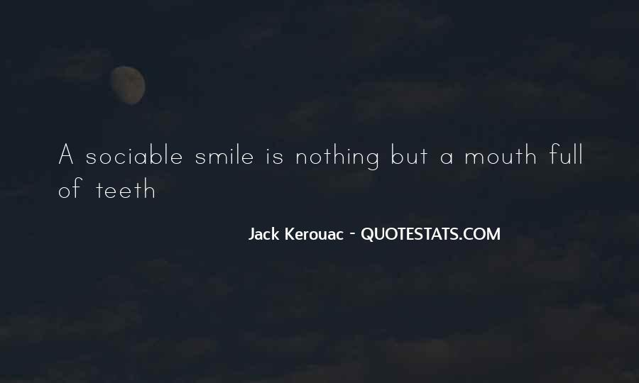 Smile Teeth Quotes #1372598