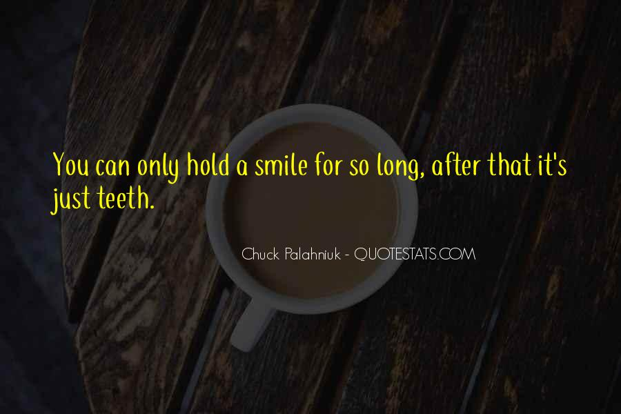 Smile Teeth Quotes #141177