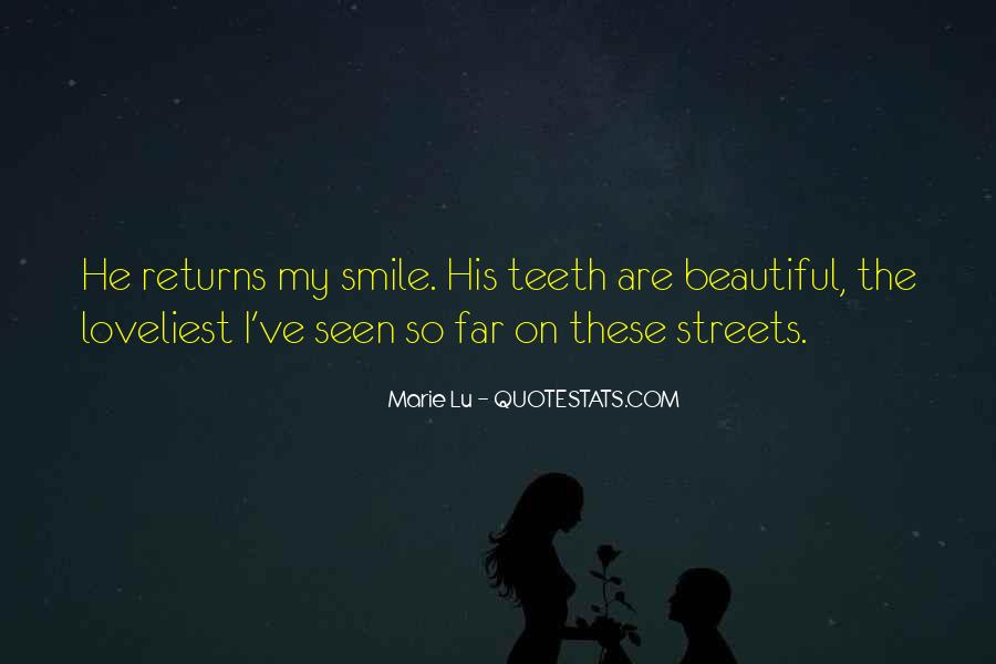 Smile Teeth Quotes #1584091