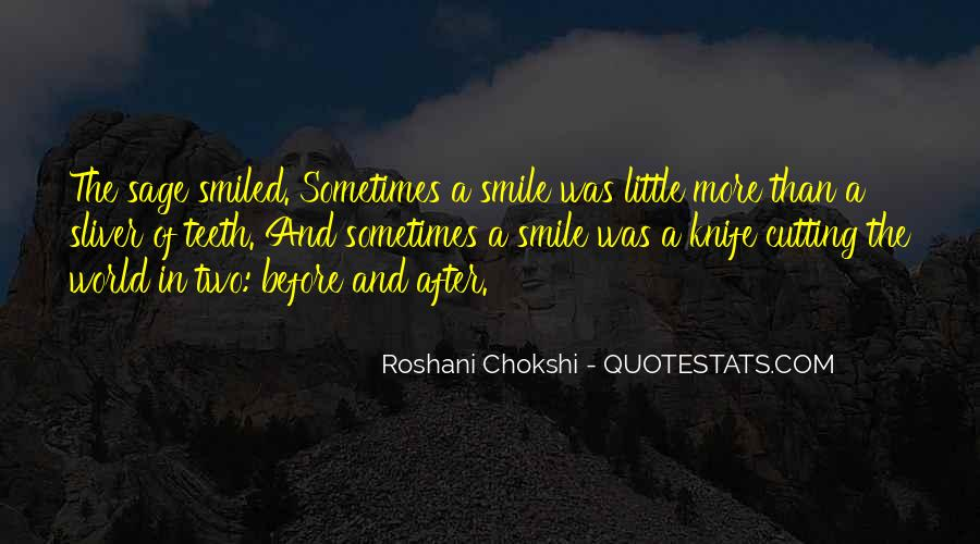 Smile Teeth Quotes #1584107