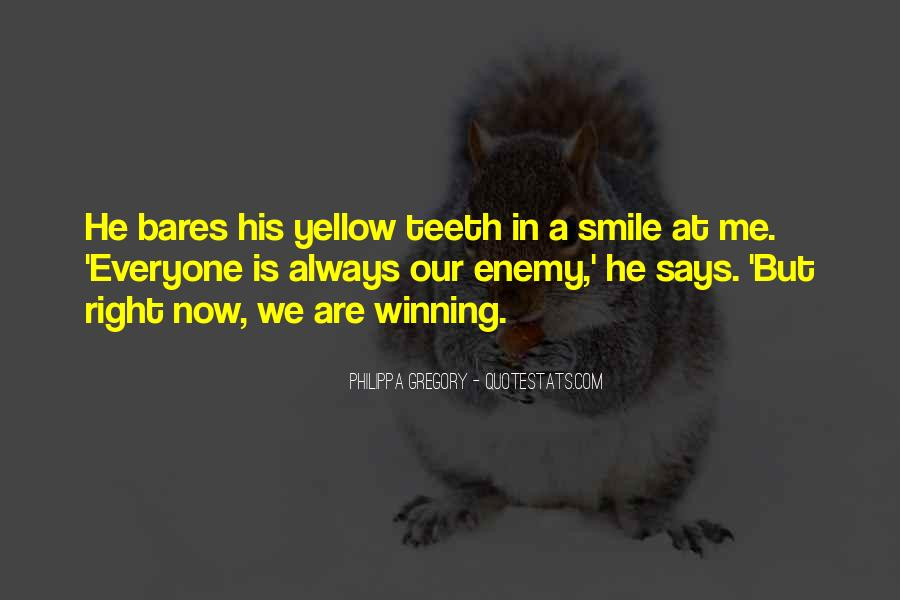 Smile Teeth Quotes #1787203