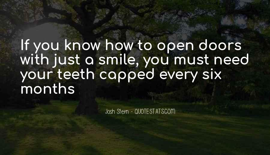 Smile Teeth Quotes #1847656
