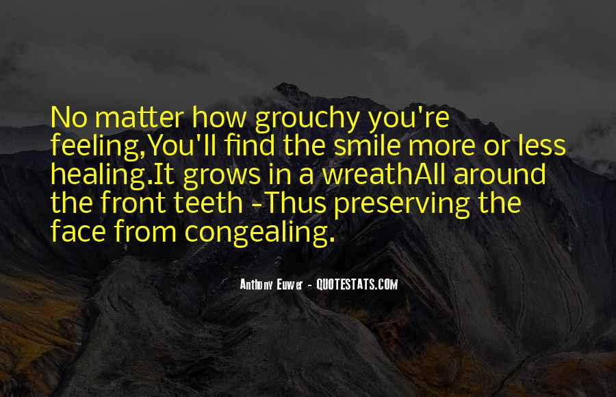 Smile Teeth Quotes #1848503