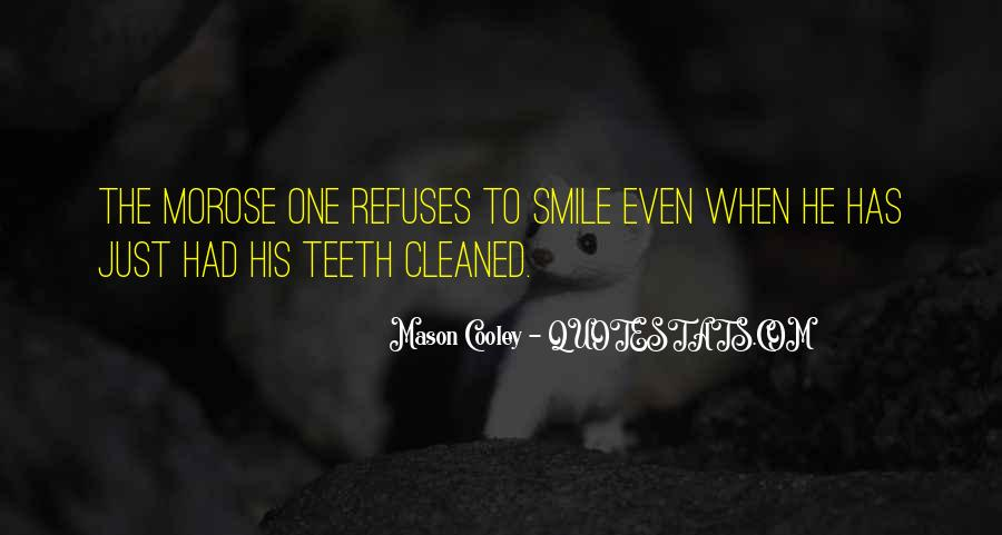 Smile Teeth Quotes #241431