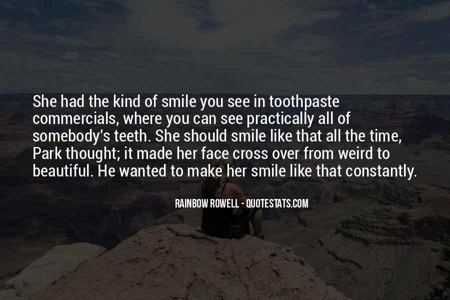 Smile Teeth Quotes #307572
