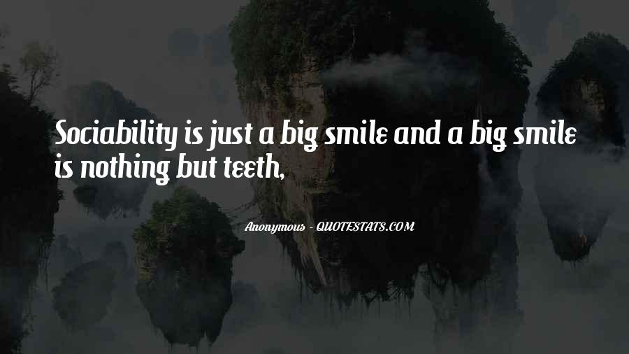 Smile Teeth Quotes #445908