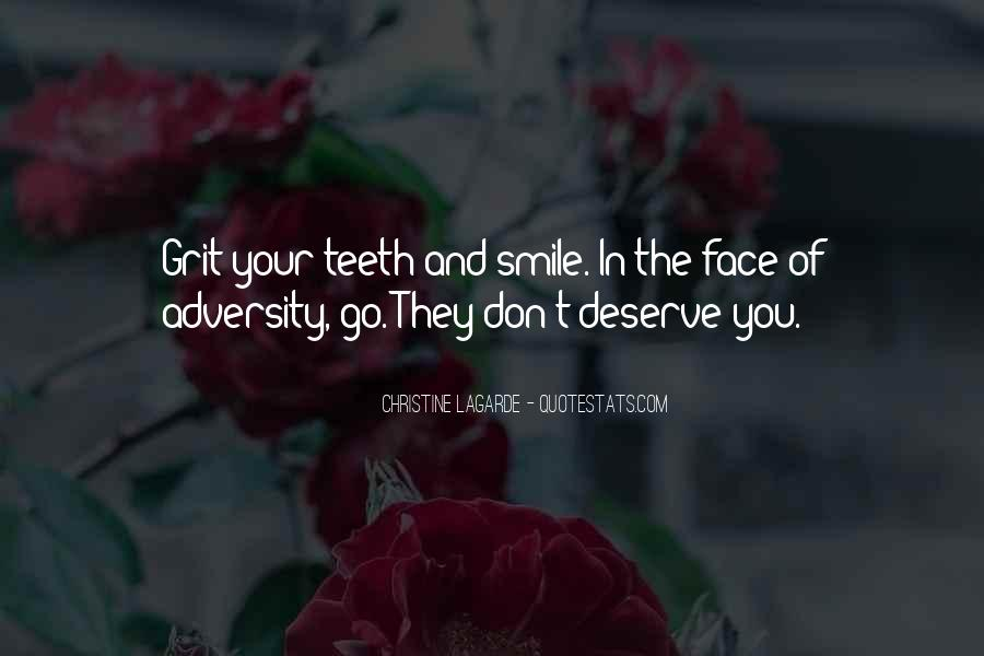 Smile Teeth Quotes #607954