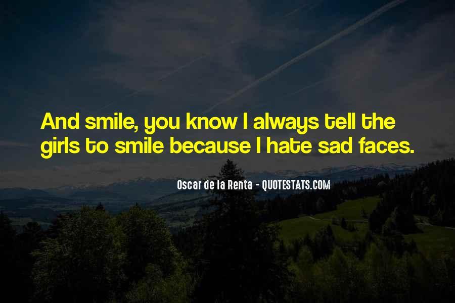 Smile When You Sad Quotes #205776