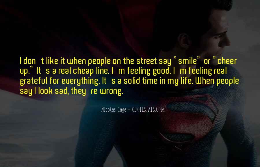Smile When You Sad Quotes #932340