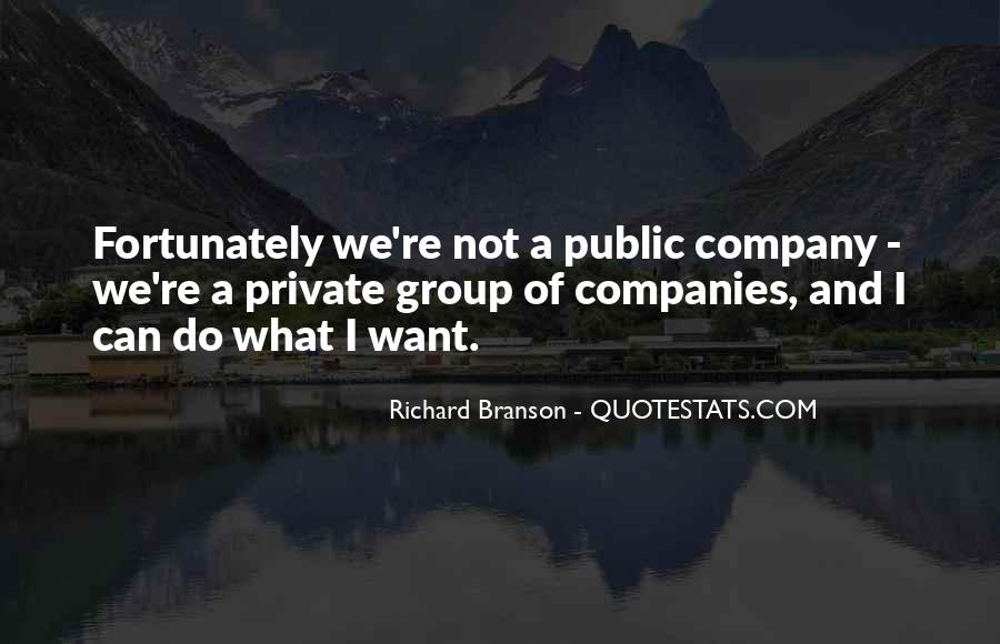 Quotes About Richard Branson #117249