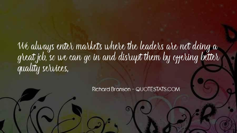Quotes About Richard Branson #136081