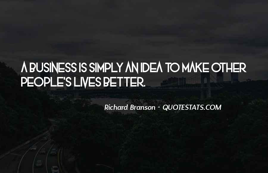 Quotes About Richard Branson #245553