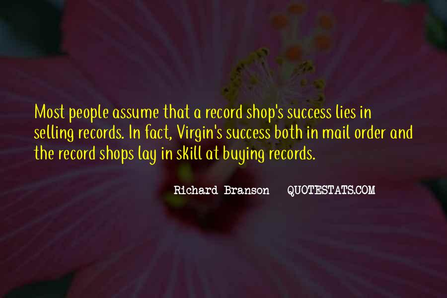 Quotes About Richard Branson #262494