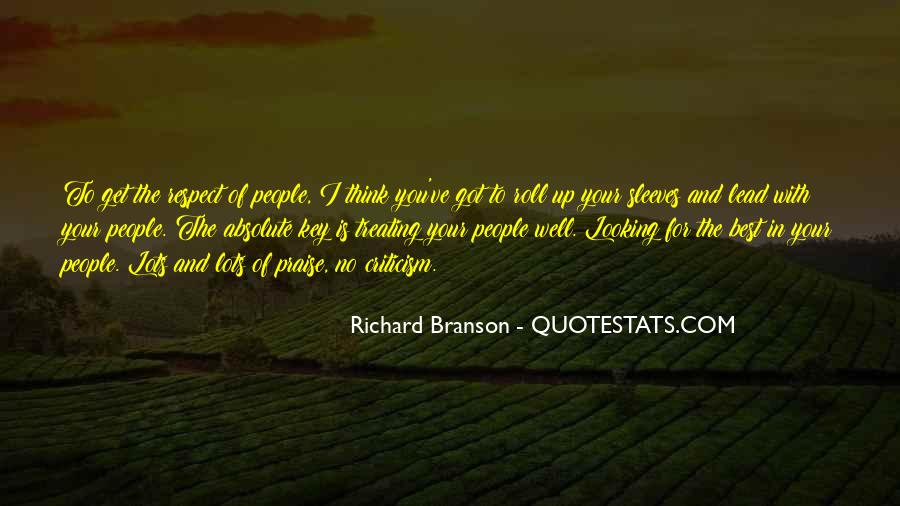 Quotes About Richard Branson #283374