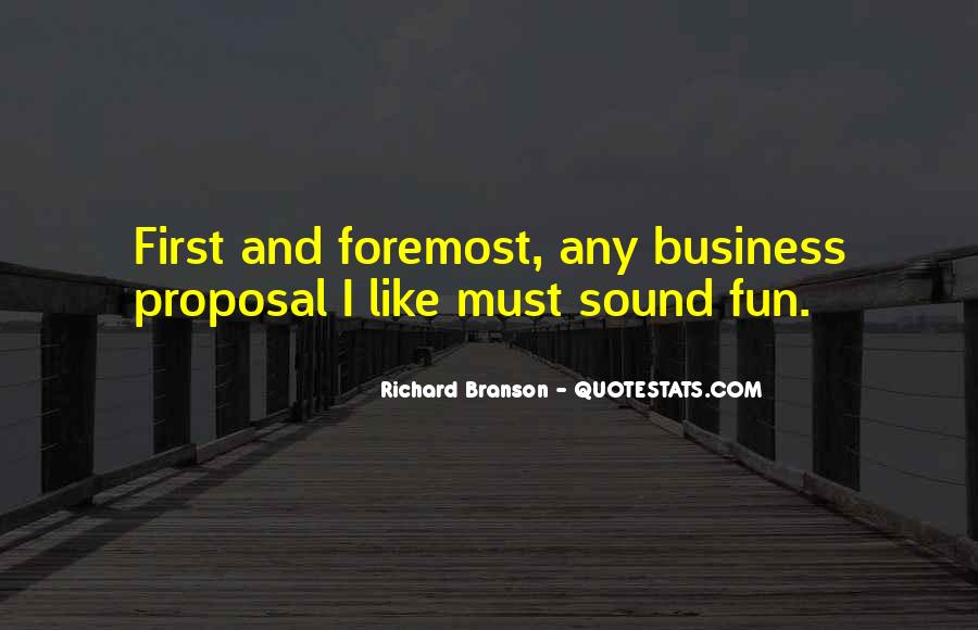 Quotes About Richard Branson #298946