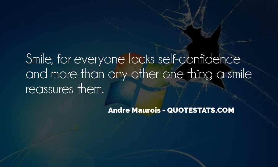 Smile With Confidence Quotes #1577019