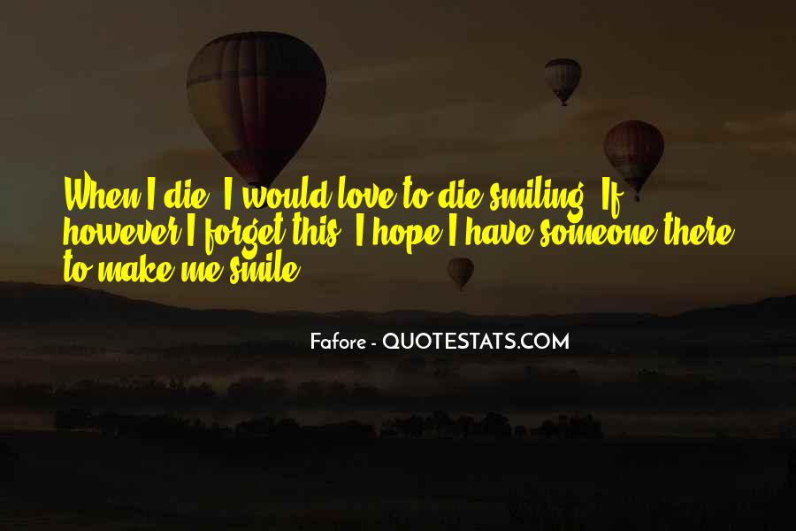 Smiling But Dying Quotes #270495