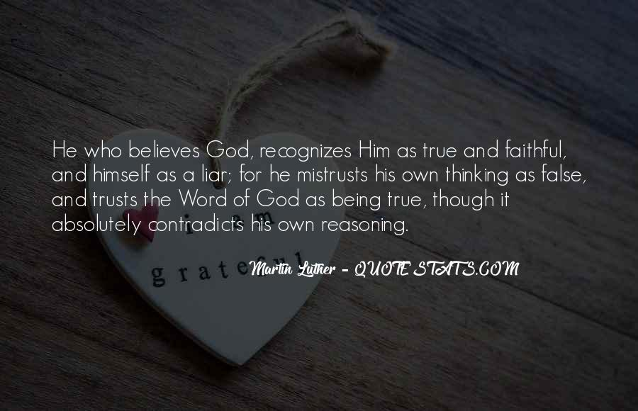 Quotes About Being Faithful To God #1768347