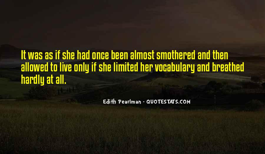 Smothered Quotes #1448189
