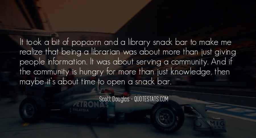 Snack Time Quotes #1473530