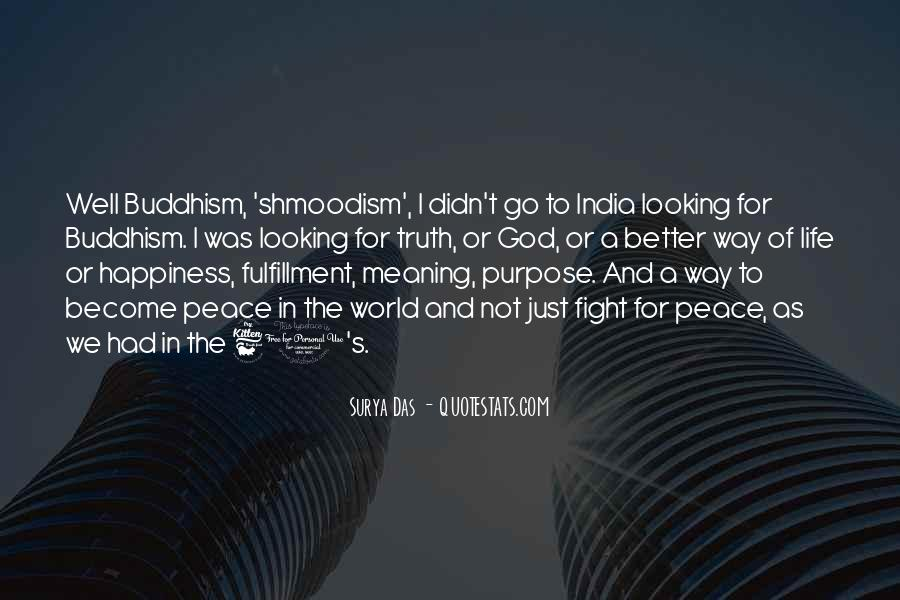 Quotes About A Life Of Purpose #100520