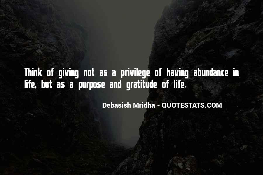 Quotes About A Life Of Purpose #107610