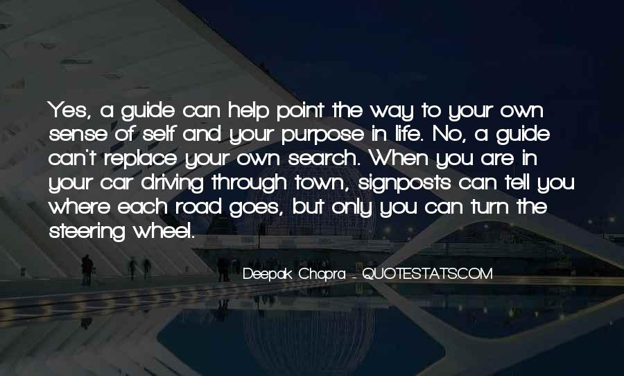 Quotes About A Life Of Purpose #143452